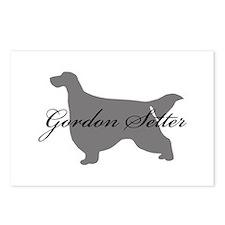 Gordon Setter Postcards (Package of 8)
