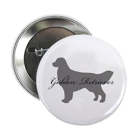 """Golden Retriever 2.25"""" Button (10 pack)"""