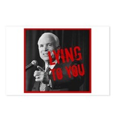 McCain - Lying to You Postcards (Package of 8)