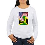 jamaika Women's Long Sleeve T-Shirt