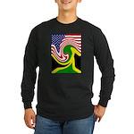 jamaika Long Sleeve Dark T-Shirt