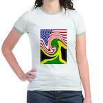 jamaika Jr. Ringer T-Shirt