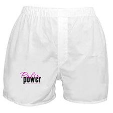 Palin Power Pink Boxer Shorts