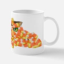 Candy Corn Cat Mug