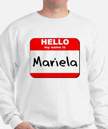 Hello my name is Mariela Sweater