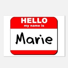 Hello my name is Marie Postcards (Package of 8)