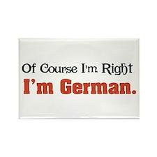 I'm German Rectangle Magnet