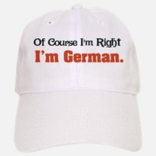 I'm German Baseball Baseball Cap