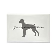 German Shorthaired Pointer Rectangle Magnet