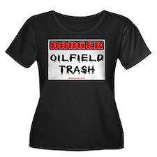 Danger Oilfield Trash T