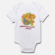 Groovy German Shorthaired Pointer Infant Bodysuit