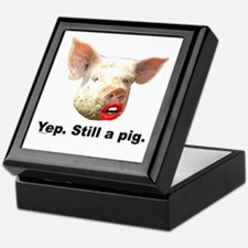 Pig in Lipstick Keepsake Box