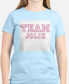Team Jolie ~  Women's Pink T-Shirt