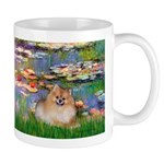 Lilies2/Pomeranian #4 Mug