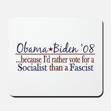 Obama Socialist Mousepad