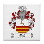 Meli Family Crest Tile Coaster
