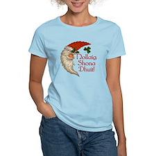 Santa Crescent Moon T-Shirt