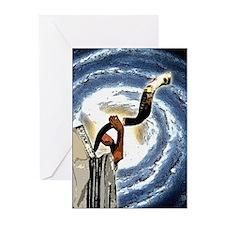Shofar Galaxy Greeting Cards (Pk of 20)