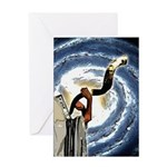 Shofar Galaxy Greeting Card