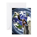 Shofar Earth Greeting Cards (Pk of 20)