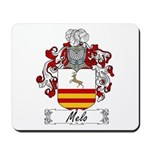 Melo Family Crest Mousepad