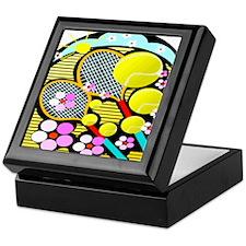 Cute Tennis Keepsake Box