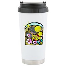 Cute Tennis Travel Coffee Mug
