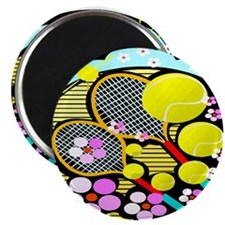 "Cute Tennis 2.25"" Magnet (10 pack)"