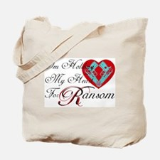 Holding Heart 4 Spunk Ransom Tote Bag