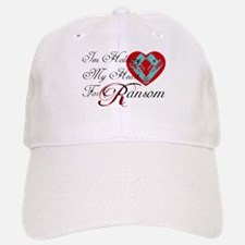 Holding Heart 4 Spunk Ransom Baseball Baseball Cap
