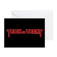TrickOrTreat Greeting Cards (Pk of 10)