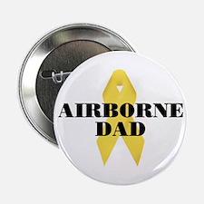 Airborne Dad Ribbon Button