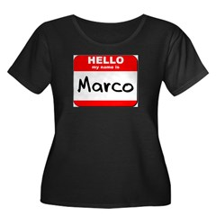 Hello my name is Marco T