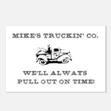 Mike's trucking co. Postcards (Package of 8)
