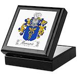 Mercurio Family Crest Keepsake Box