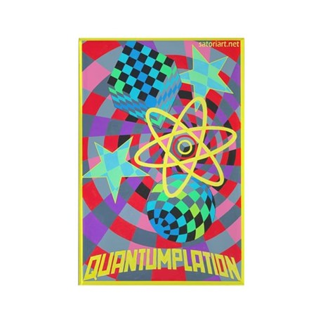 Quantumplation Rectangle Magnet (10 pack)