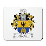 Merlini Family Crest Mousepad