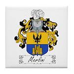 Merlini Family Crest Tile Coaster