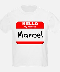 Hello my name is Marcel T-Shirt