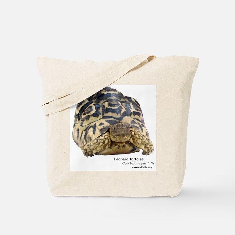 Leopard Tortoise Tote Bag