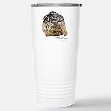 Leopard Tortoise Stainless Steel Travel Mug