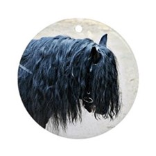 Fell Pony Ornament (Round)