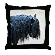 Fell Pony Throw Pillow