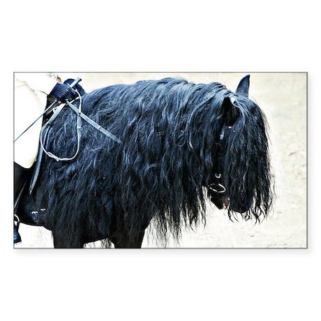 Fell Pony Rectangle Sticker