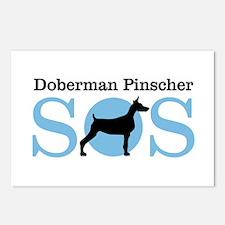 Dobie SOS Postcards (Package of 8)