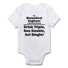 Biomedical Engineer Infant Bodysuit