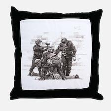 Rec Yard Throw Pillow