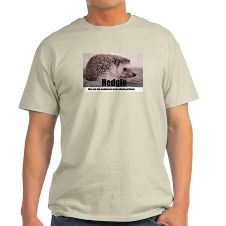 Hedgie Mealworms! Light T-Shirt