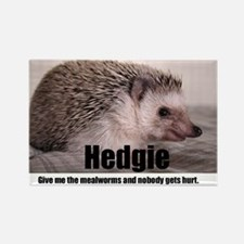 Hedgie Mealworms! Rectangle Magnet