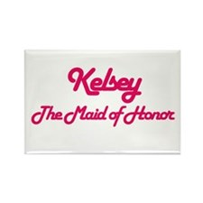 Kelsey - Maid of Honor Rectangle Magnet